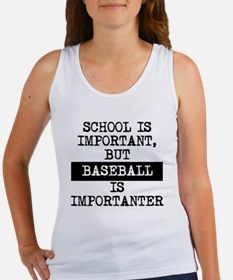 Baseball Is Importanter Tank Top