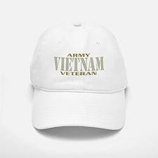 VIETNAM WAR ARMY VETERAN! Baseball Baseball Cap