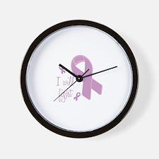 I WIll Fight Wall Clock