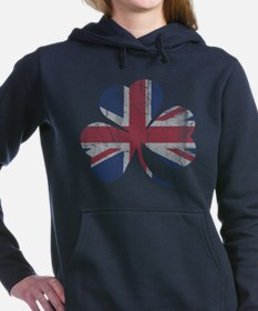Funny Union jacks Women's Hooded Sweatshirt