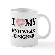 I love my Knitwear Designer (Heart Made from Mugs