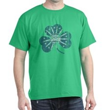 Buffalo Irish Shamrock Flag T-Shirt