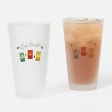 Give Back Drinking Glass