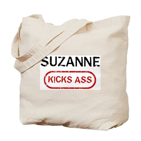 SUZANNE kicks ass Tote Bag