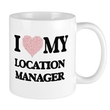 I love my Location Manager (Heart Made from W Mugs