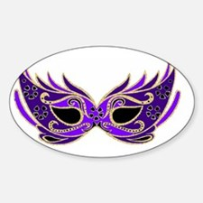 Purple Mask Decal