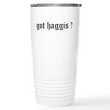 Cute Scottish family tartan Travel Mug