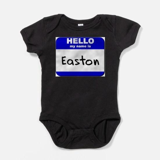 Cute Easton Baby Bodysuit