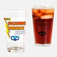 Funny Trigeminal neuralgia Drinking Glass