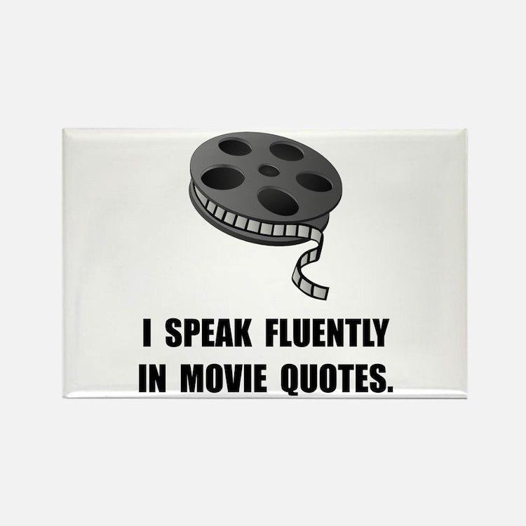 Cute Film buff Rectangle Magnet