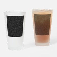 BLACK MARBLE Drinking Glass