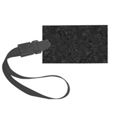 BLACK MARBLE Luggage Tag