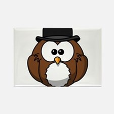 Bowler Owl Magnets