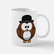 Bowler Owl Mugs