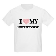 I love my Nutritionist (Heart Made from Wo T-Shirt
