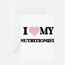 I love my Nutritionist (Heart Made Greeting Cards