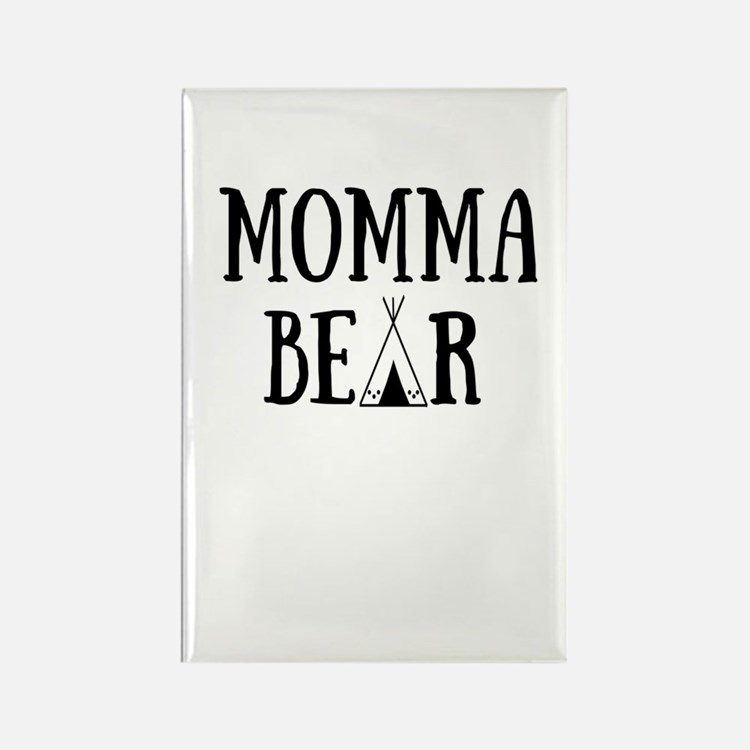 Cute Momma Rectangle Magnet