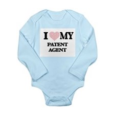 I love my Patent Agent (Heart Made from Body Suit