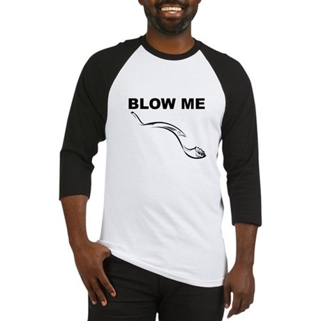 Blow Me Baseball Jersey