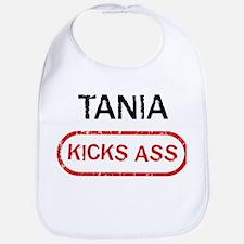 TANIA kicks ass Bib