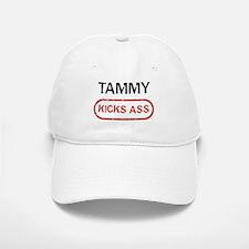 TAMMY kicks ass Baseball Baseball Cap