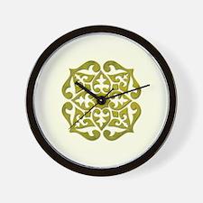 BOHEMIAN TILE Wall Clock