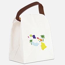 Hawaiian Islands Canvas Lunch Bag
