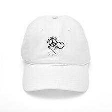 PEACE-LOVE-LAX Baseball Cap