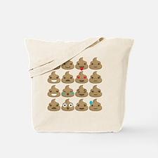 Funny Poo Tote Bag