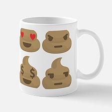 kawaii poop emoji Mugs