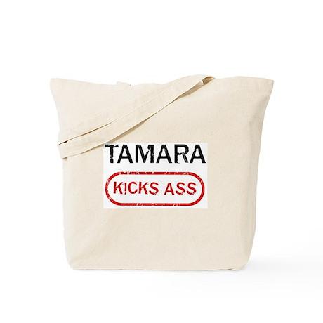 TAMARA kicks ass Tote Bag