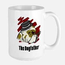 The Dogfather Large Mug