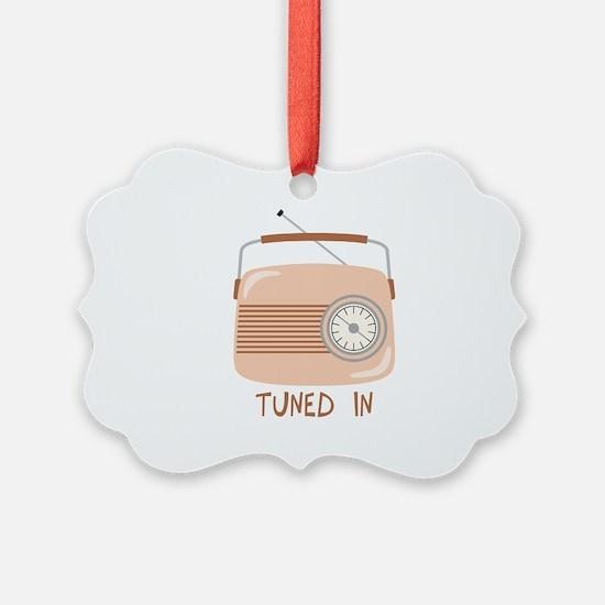 Radio Tuned In Ornament