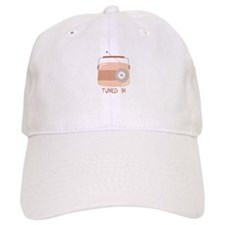 Radio Tuned In Baseball Baseball Baseball Cap