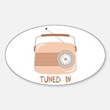 Radio Tuned In Decal