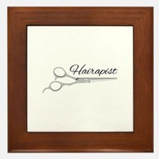 Hairapist Framed Tile