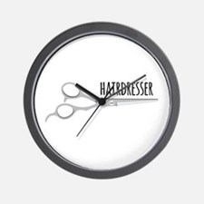 Hairdresser Scissors Wall Clock