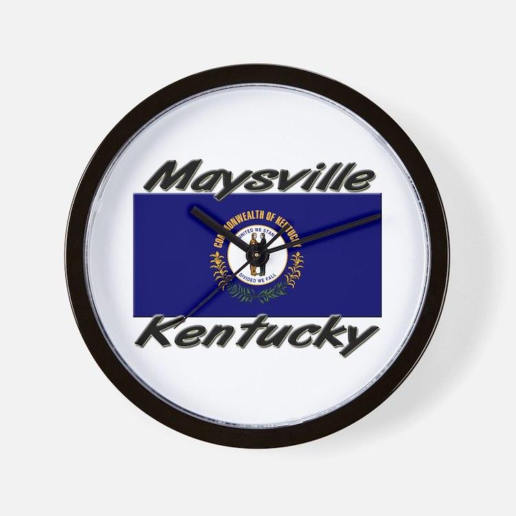 Maysville Kentucky Wall Clock