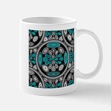 Geometric arabesque Mugs