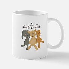 Love To Go Arounds Mugs