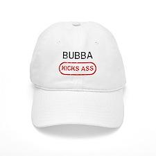 BUBBA kicks ass Baseball Cap