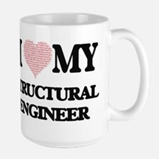 I love my Structural Engineer (Heart Made fro Mugs