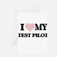 I love my Test Pilot (Heart Made fr Greeting Cards
