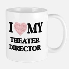 I love my Theater Director (Heart Made from W Mugs
