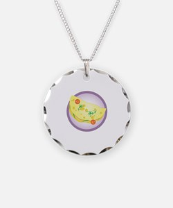 Omelet Necklace
