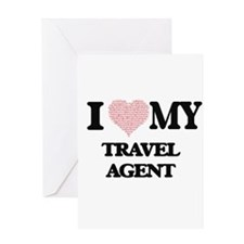 I love my Travel Agent (Heart Made Greeting Cards