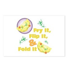 Fold It Omelet Postcards (Package of 8)