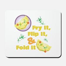 Fold It Omelet Mousepad