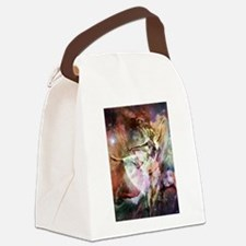 Dancing In Stardust Canvas Lunch Bag