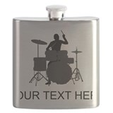Drummer Flask Bottles